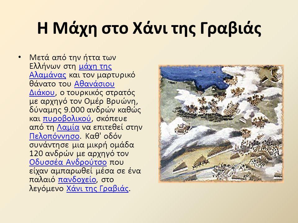 Ηρωική νίκη του Θ. Κολοκοτρώνη στην Τριπολιτσά. 23 Σεπτεμβρίου 1821