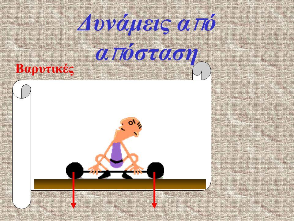 Δυνάμεις α π ό α π όσταση Ηλεκτρικές + + + + + + + + + + + + + + + + + + +