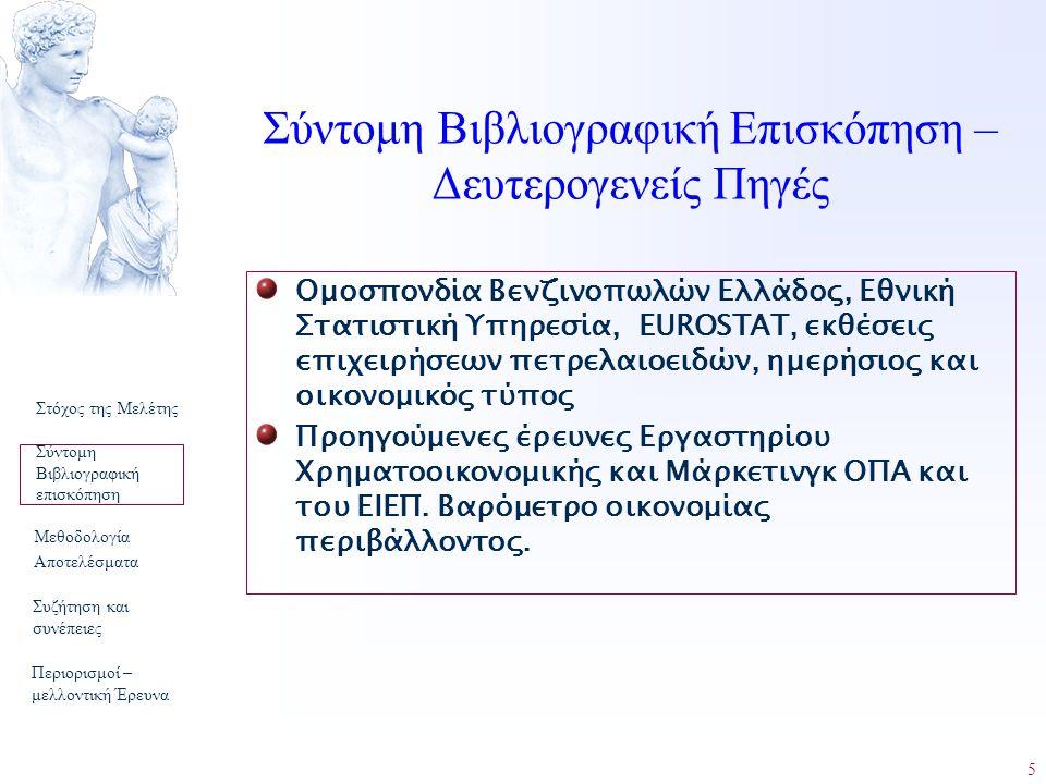 5 Ομοσπονδία Βενζινοπωλών Ελλάδος, Εθνική Στατιστική Υπηρεσία, EUROSTAT, εκθέσεις επιχειρήσεων πετρελαιοειδών, ημερήσιος και οικονομικός τύπος Προηγού