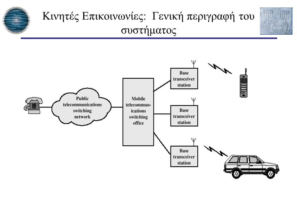 Κινητές Επικοινωνίες: Γενική περιγραφή του συστήματος
