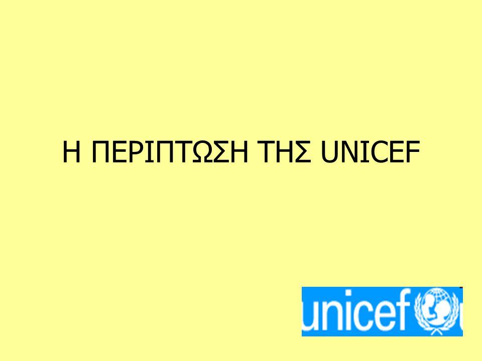 H UNICEF, η οργάνωση των Ηνωμένων Εθνών για τα Παιδιά, ιδρύθηκε στις 11 Δεκεμβρίου 1946 για να βοηθήσει τα παιδιά της Ευρώπης, της Μέσης Ανατολής και της Κίνας μετά το τέλος του Β΄ Παγκοσμίου Πολέμου.Το 1953, γίνεται μόνιμο τμήμα του συστήματος των Ηνωμένων Εθνών.