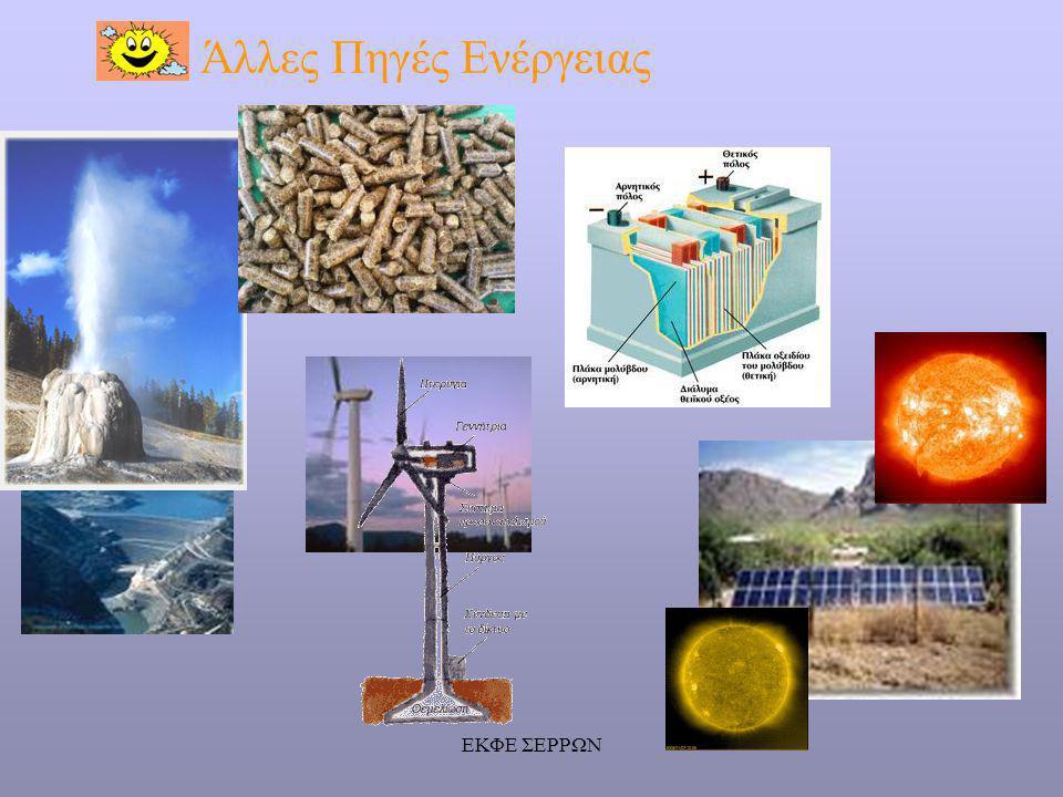 ΕΚΦΕ ΣΕΡΡΩΝ Άλλες Πηγές Ενέργειας