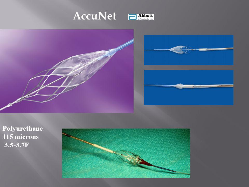 Polyurethane 115 microns 3.5-3.7F AccuNet