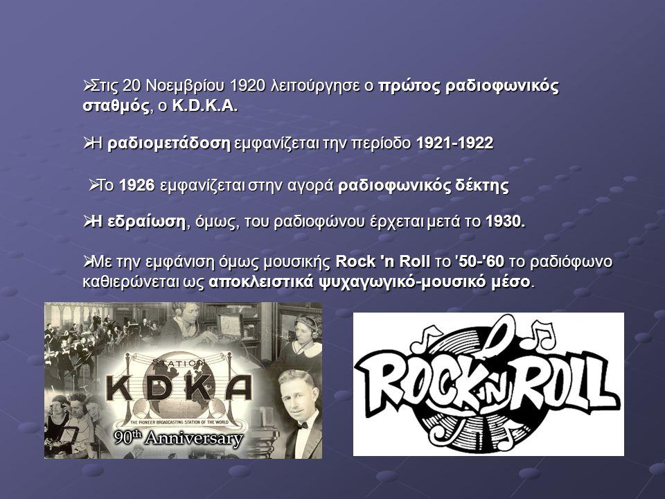  Τη δεκαετία του 60 αμφισβητείται στην Ευρώπη το κρατικό ραδιόφωνο, γιατί δεν μετέδιδε Ροκ.