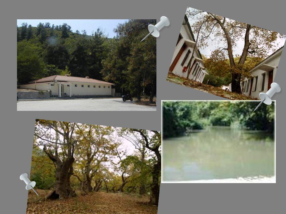 Λουτρά Ελευθερών Οι ιαματικές πηγές των Λουτρών Ελευθερών βρίσκονται στην κοιλάδα του ποταμού Μαρμαρά σε απόσταση 42χιλιόμετρα από την πόλη της Καβάλα