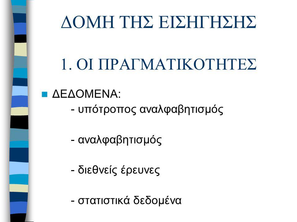 ΔΟΜΗ ΤΗΣ ΕΙΣΗΓΗΣΗΣ 2.