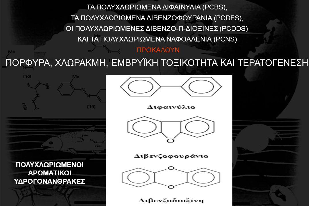 ΤΑ ΠΟΛΥΧΛΩΡΙΩΜΕΝΑ ΔΙΦΑΙΝΥΛΙΑ (PCBS), ΤΑ ΠΟΛΥΧΛΩΡΙΩΜΕΝΑ ΔΙΒΕΝΖΟΦΟΥΡΑΝΙΑ (PCDFS), ΟΙ ΠΟΛΥΧΛΩΡΙΩΜΕΝΕΣ ΔΙΒΕΝΖΟ-Π-ΔΙΟΞΙΝΕΣ (PCDDS) ΚΑΙ ΤΑ ΠΟΛΥΧΛΩΡΙΩΜΕΝΑ ΝΑ