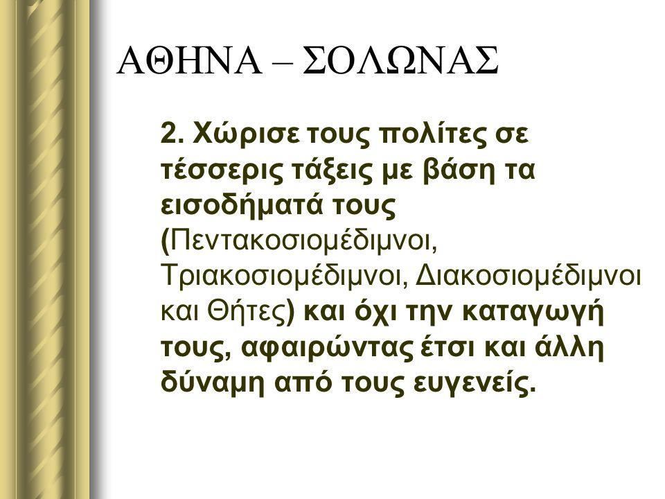 ΑΘΗΝΑ – ΣΟΛΩΝΑΣ 2.
