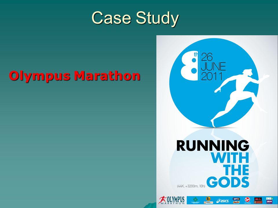 Case Study Olympus Marathon