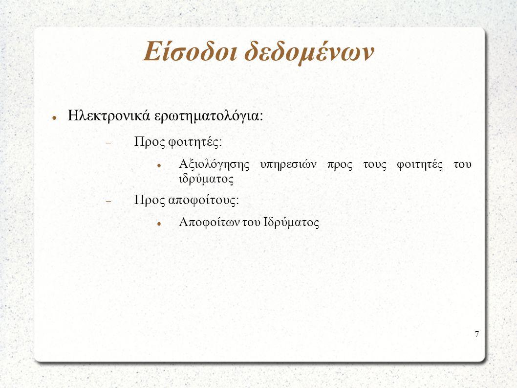 18 Εξαγωγή Αποτελεσμάτων Υπηρεσία συμπλήρωσης έκθεσης εσωτερικής αξιολόγησης (ΟΜΕΑ)