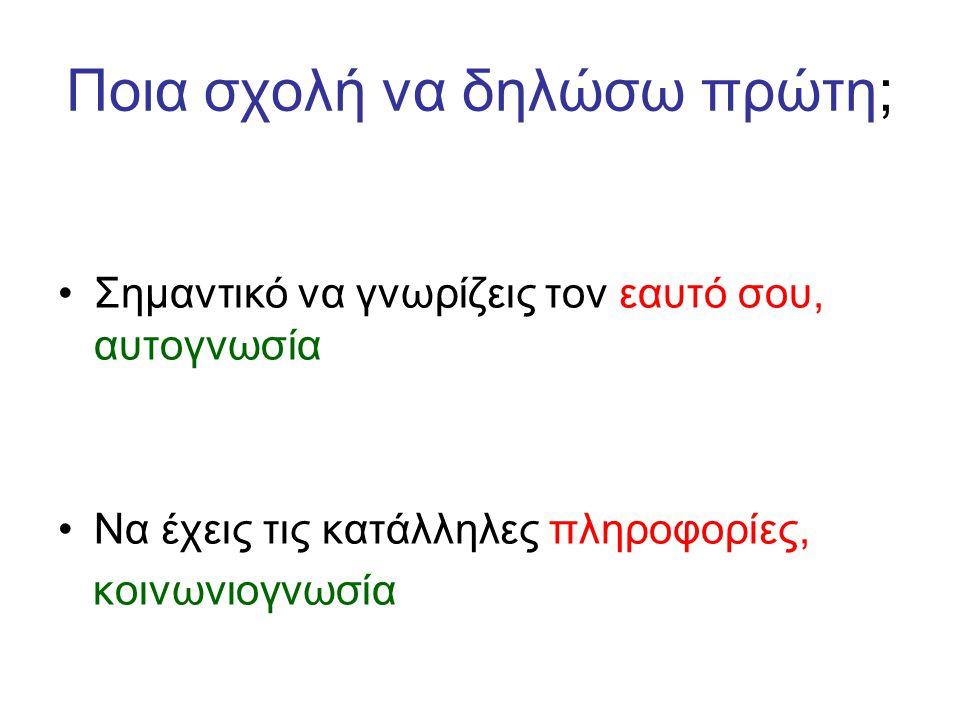 Δεύτερο Πεδίο Εφαρμοσμένα Μαθημ.& Φυσικ.