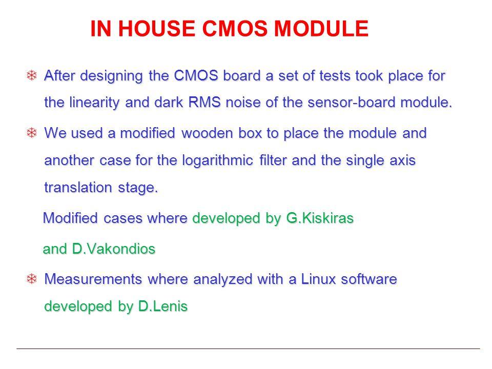 CCD SENSOR MODULE CCD 3648 pixels Spectral response 200-900 nm Low noise PCB 6-Layer Design FPGA based Data Acquisition Under development by T.Athanasopoulos