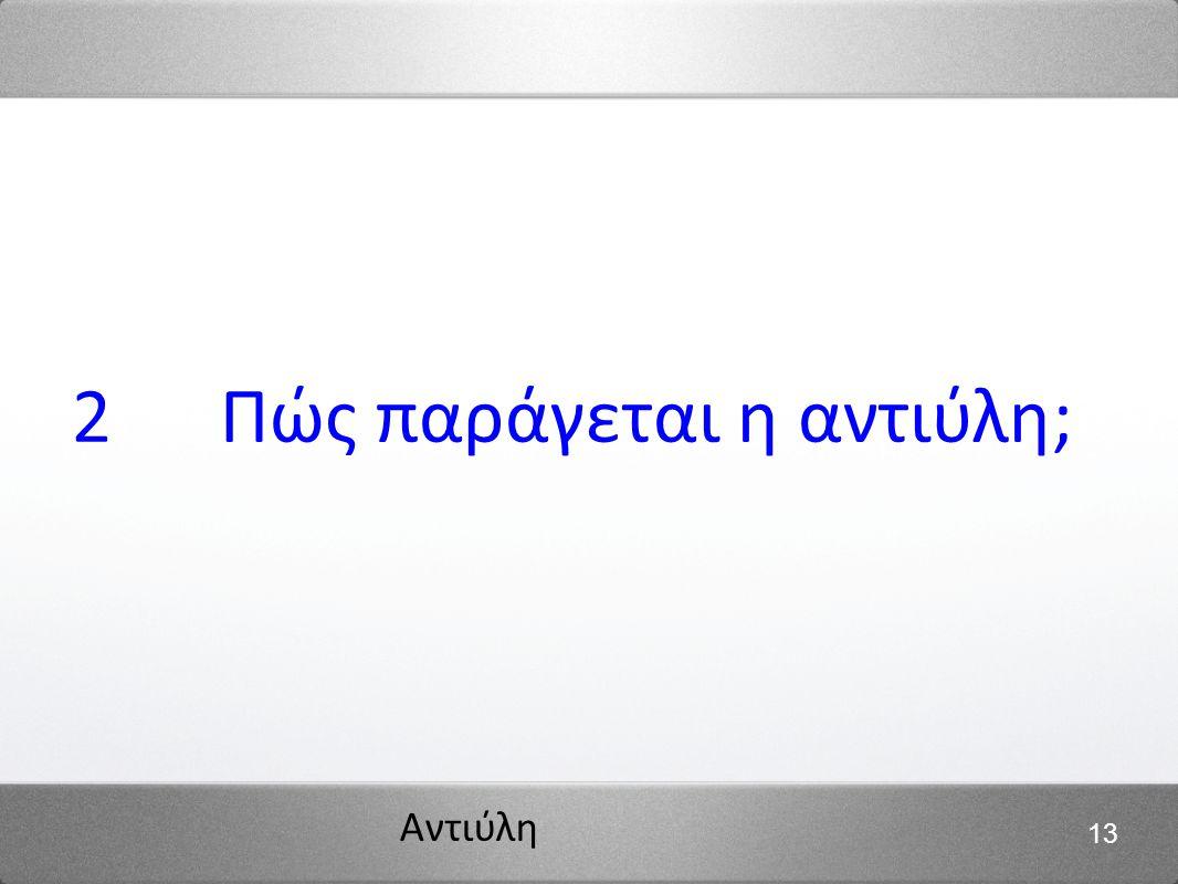 Αντιύλη 13 2 Πώς παράγεται η αντιύλη;