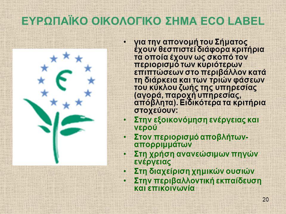 21 Ενεργειακή σήμανση οικιακών συσκευών Η ενεργειακή σήμανση καθιερώθηκε στην Ευρωπαϊκή Ένωση με την έκδοση οδηγίας και σε Εθνικό επίπεδο με την έκδοση Προεδρικού Διατάγματος το οποίο έθεσε το γενικό νομοθετικό πλαίσιο για την εφαρμογή της ενεργειακής σήμανσης στις οικιακές συσκευές.