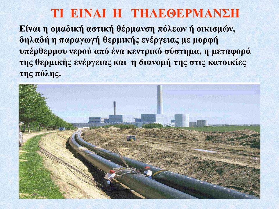 ΠΑΡΑΔΕΙΓΜΑΤΑ Εφαρμογών Τηλεθέρμανσης 2.Χώρες της ΕΕ π.χ.