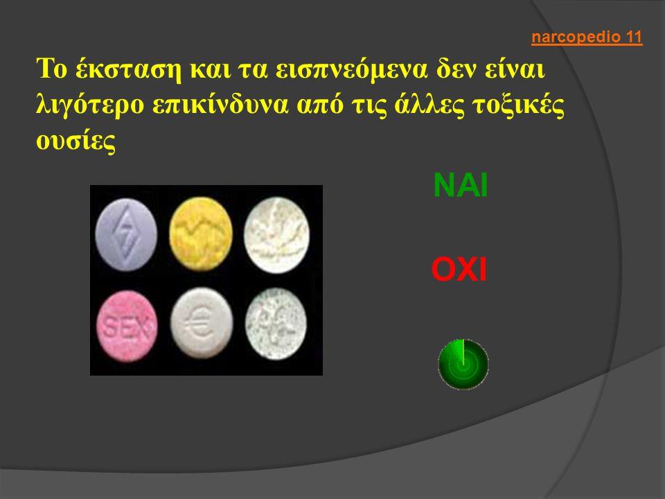 Το έκσταση και τα εισπνεόμενα δεν είναι λιγότερο επικίνδυνα από τις άλλες τοξικές ουσίες ΝΑΙ ΟΧΙ narcopedio 11