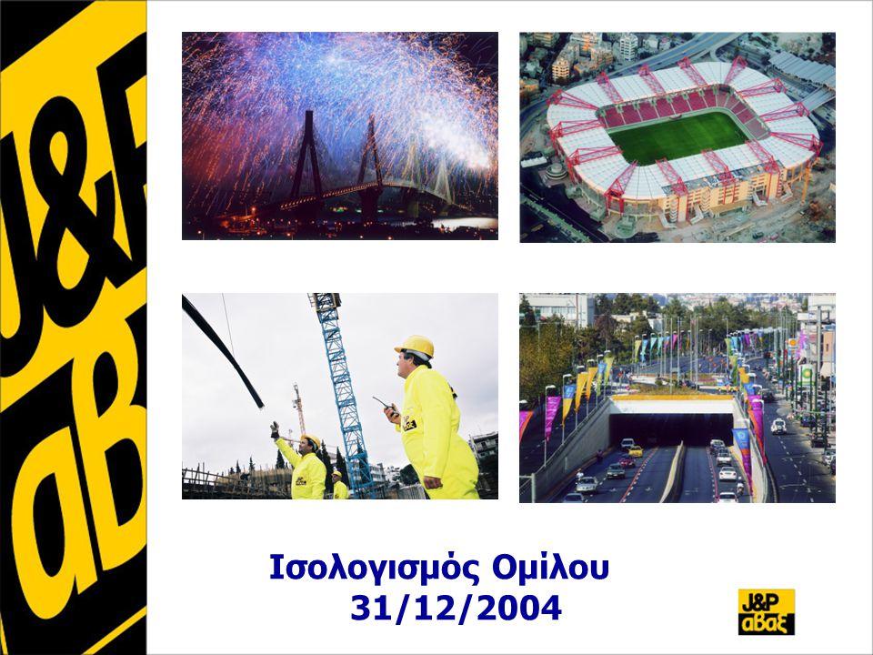 Ισολογισμός Ομίλου 31/12/2004