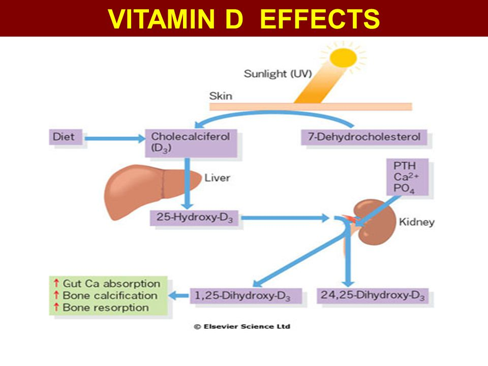 VITAMIN D EFFECTS