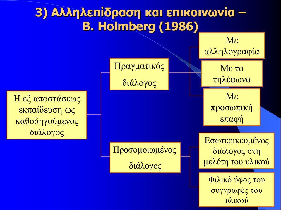 3) Αλληλεπίδραση και επικοινωνία – B.