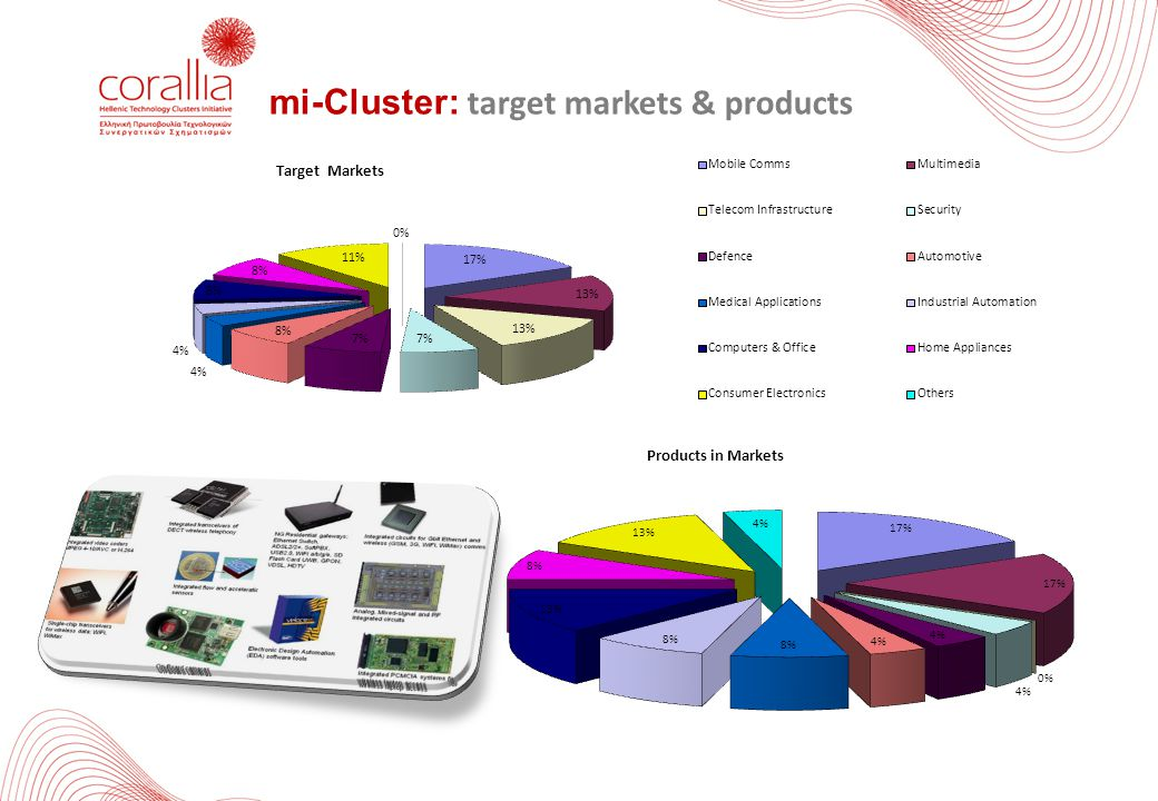mi-Cluster: target markets & products