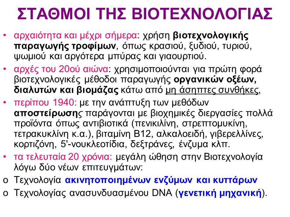 μικροβιακά κύτταρα: πολύπλοκα ανοικτά θερμοδυναμικά συστήματα, στα οποία εισρέουν θρεπτικά συστατικά και από τα οποία εκβάλλονται προϊόντα του μεταβολισμού.