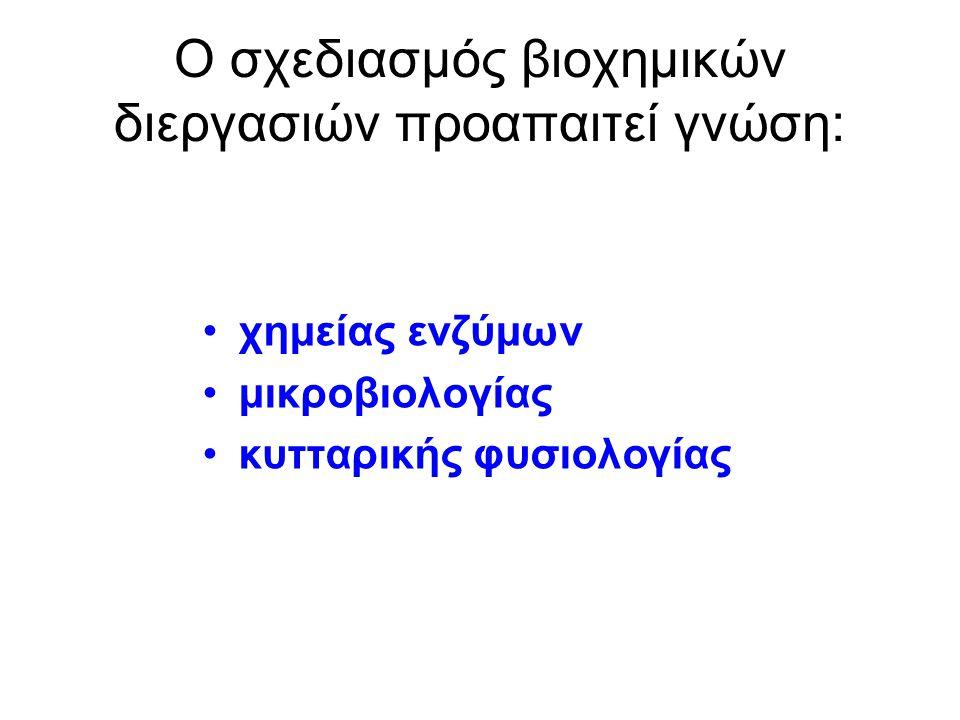 Βέλτιστες συνθήκες ανάπτυξης και βέλτιστες συνθήκες βιοδιεργασίας π.χ.