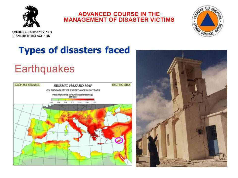 Adverse weather phenomena ADVANCED COURSE IN THE MANAGEMENT OF DISASTER VICTIMS ΕΘΝΙΚΟ & ΚΑΠΟΔΙΣΤΡΙΑΚΟ ΠΑΝΕΠΙΣΤΗΜΙΟ ΑΘΗΝΩΝ