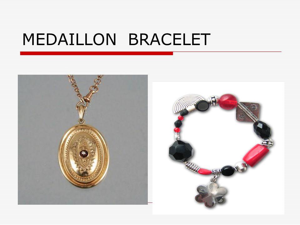 16 MEDAILLON BRACELET