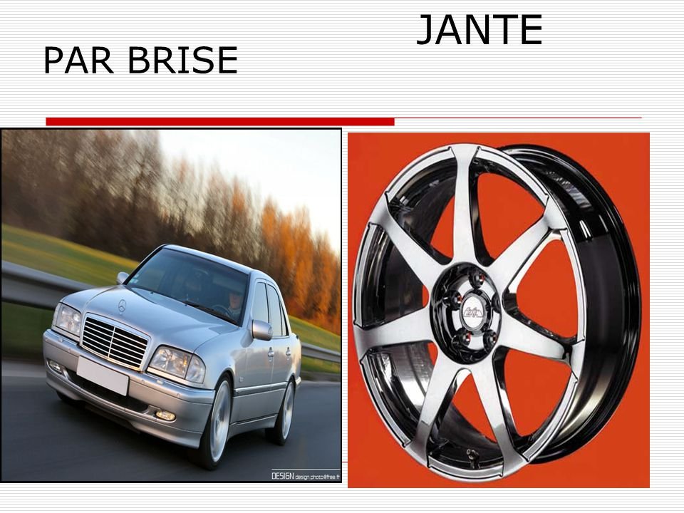 5 PAR BRISE JANTE
