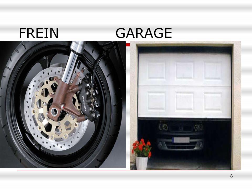 8 FREIN GARAGE