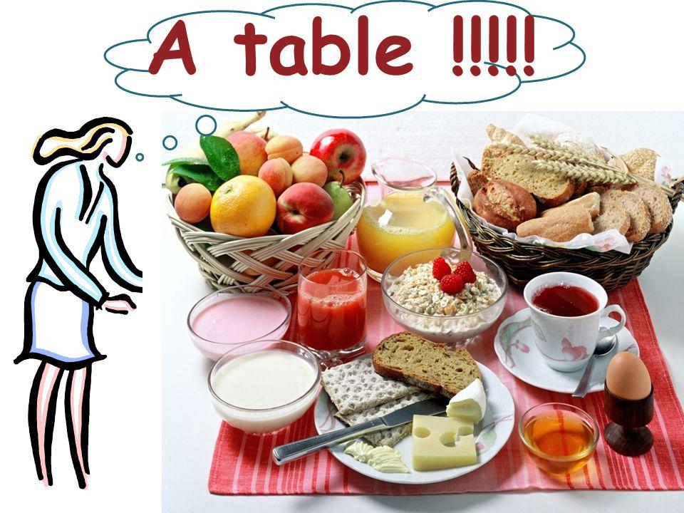 Το πρωί τρώμε: 1) fruits a) 2) croissant b) 3) sandwitch c)