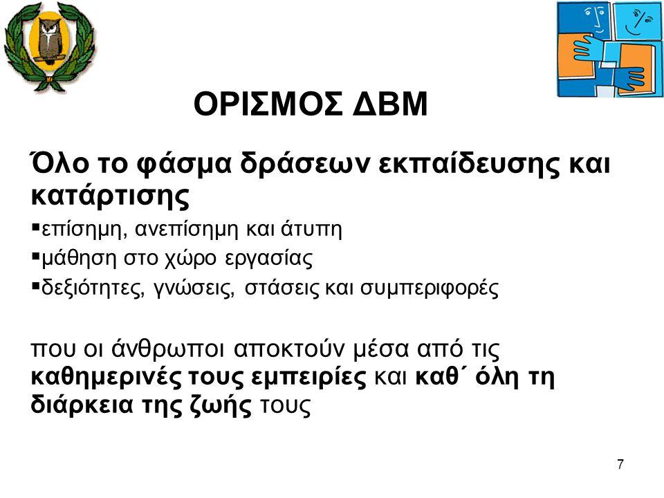 28  Η στρατηγική δια βίου μάθησης θα υποβληθεί για έγκριση στο Υπουργικό Συμβούλιο  Θα προωθηθεί η σύσταση Εθνικής Επιτροπής Δια Βίου Μάθησης  Έχει συσταθεί Ίδρυμα προώθησης και διαχείρισης του Ευρωπαϊκού Προγράμματος Δια Βίου Μάθησης για την περίοδο 2007-2013 Βελτίωση Υφιστάμενων και Σύσταση Νέων Μηχανισμών Διακυβέρνησης Δια Βίου Μάθησης