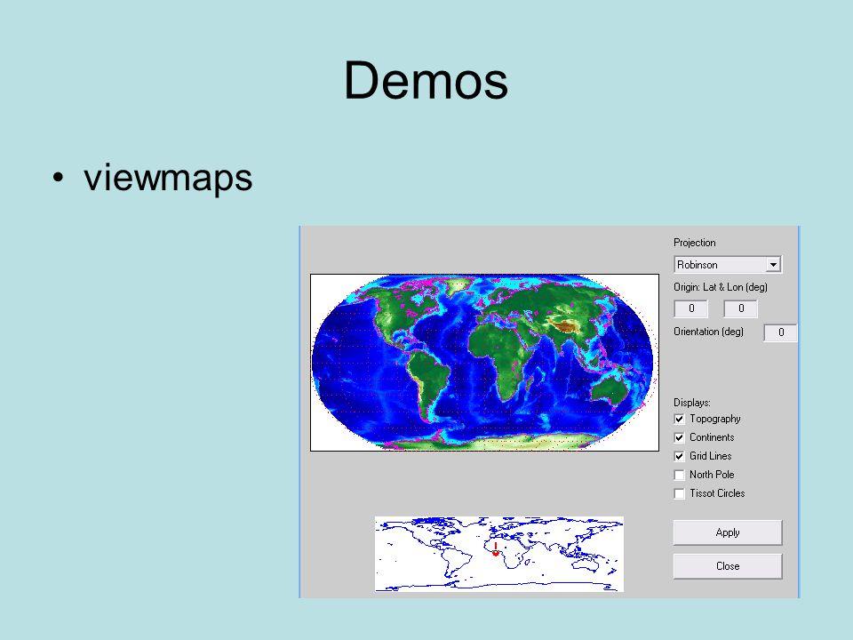 Demos viewmaps