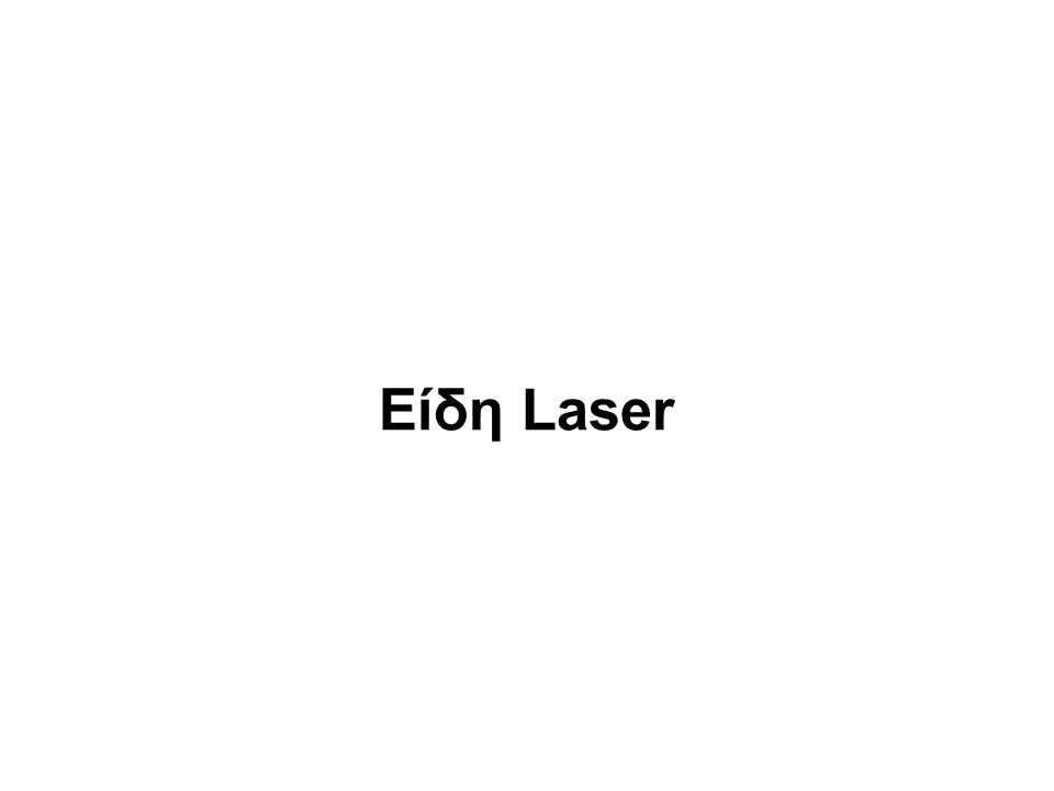 Είδη Laser
