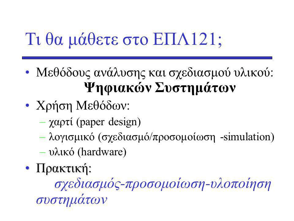 Hex Arithmetic Για καθε ζευγος ψηφιων –Ηex2Dec, –Προσθεση –Dec2Hex Α+Β Α 59F Β E46+