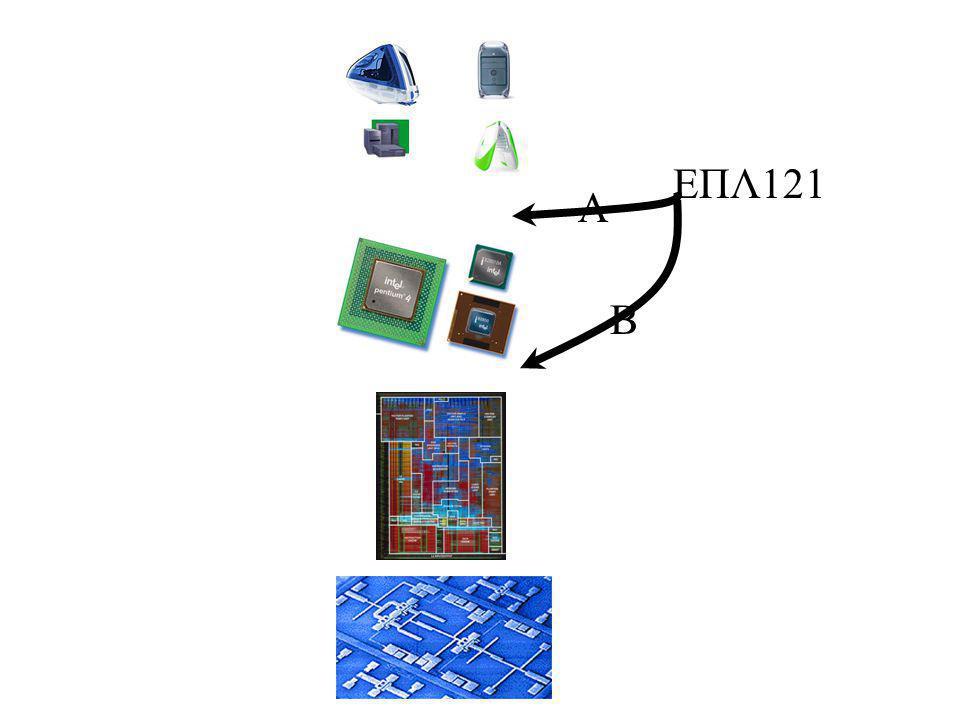 Ψηφιακοί Υπολογιστές και Πληροφορία Κοινωνια της Πληροφοριας Πληροφορια διεπει σχεδον τα παντα Ευρεια χρηση ψηφιακων συστηματών για επεξεργασία και αποθήκευση πληροφοριών Ψηφιάκα Συστήματα Γενικής Χρησεώς (προγραμματιζόμενα) –προσωπικός υπολογιστής, servers Εξειδικεύμενης (περιορισμενός προγραμματισμός) –mobile phones, πλυντήριο, αύτοκίνητο, CD player, gameboy