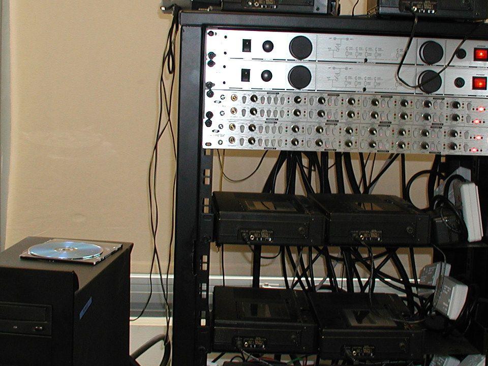 Εργαστήριο Ψηφιοποίησης Βιβλιοθήκης Πανεπιστημίου Κύπρου Σταθμός ψηφιοποίησης ηχητικού υλικού