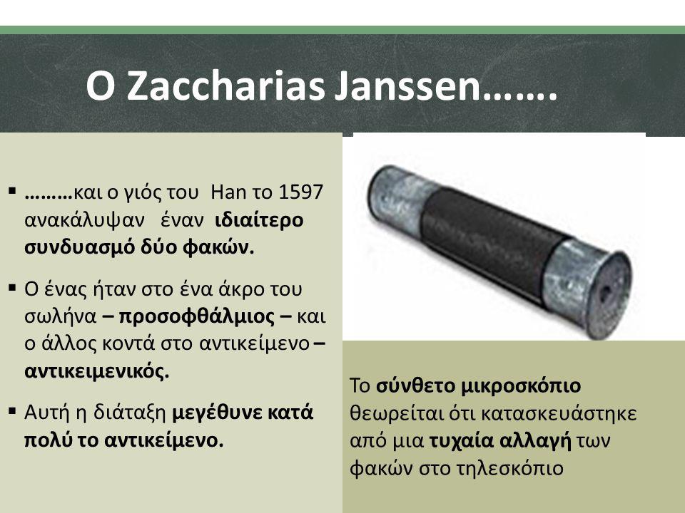 Ο Zaccharias Janssen…….