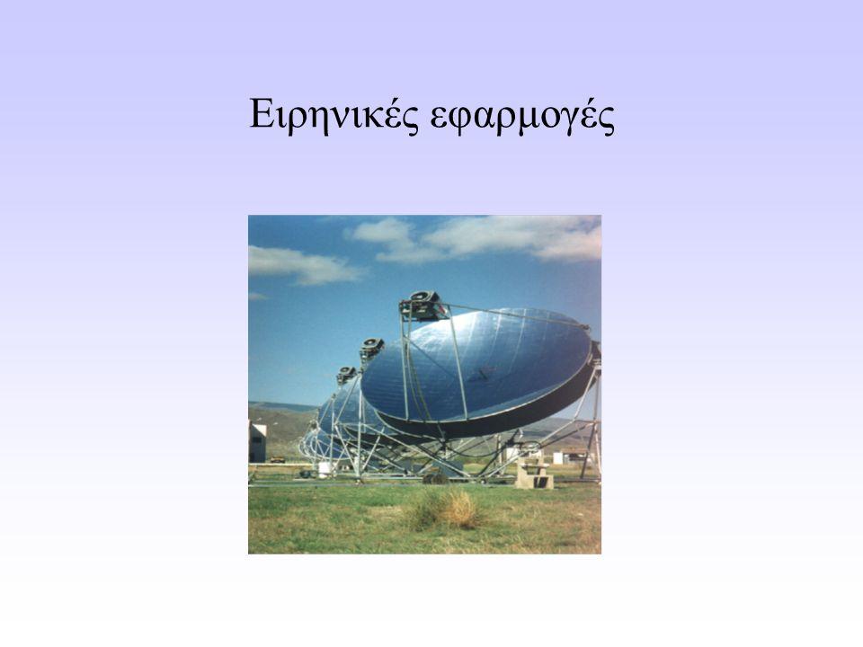 Παράδειγμα εφαρμογής Σύζευξη μονάδας αφαλάτωσης νερού με ανανεώσιμη πηγή ενέργειας (ηλιακή ή αιολική) Δυνατότητα αποθήκευσης της ενέργειας
