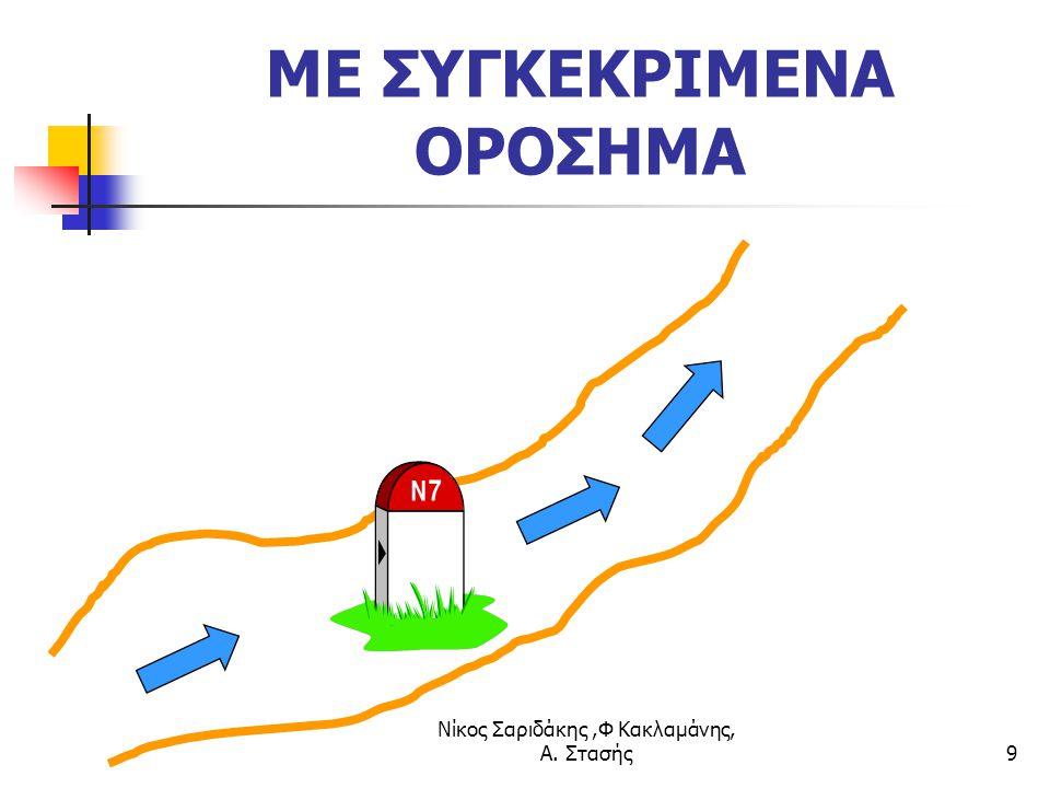 Νίκος Σαριδάκης,Φ Κακλαμάνης, Α. Στασής9 ΜΕ ΣΥΓΚΕΚΡΙΜΕΝΑ ΟΡΟΣΗΜΑ