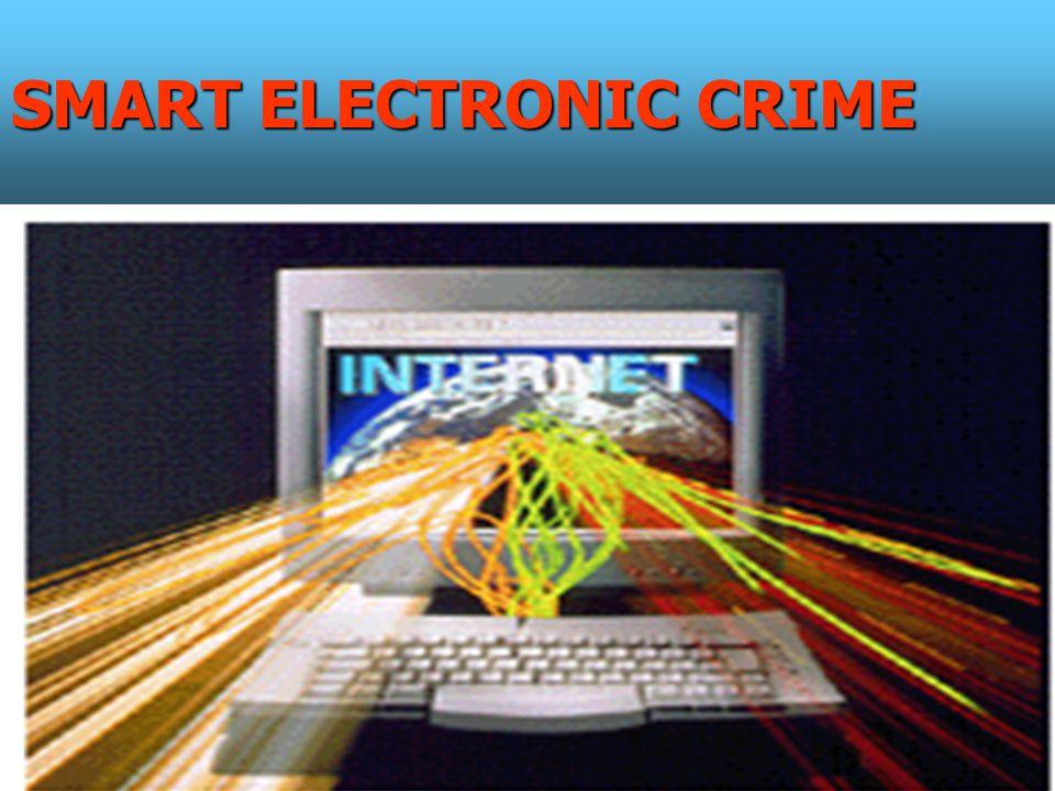 SMART ELECTRONIC CRIME