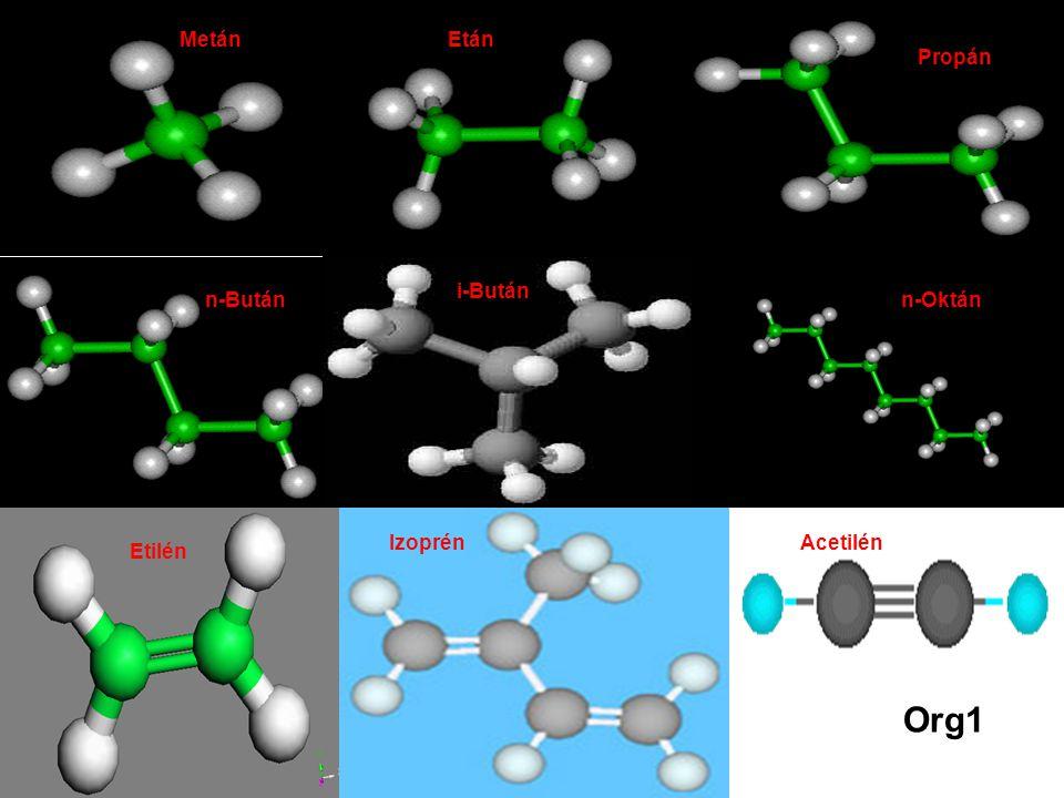 Org2 Ciklohexán Benzol Sztirol 2-butén Ciklohexán Toluol Naftalin BenzolSztirol KoleszterinNaftalin Org2 Butadién