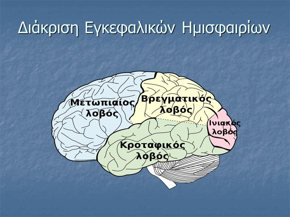 Διάκριση Εγκεφαλικών Ημισφαιρίων