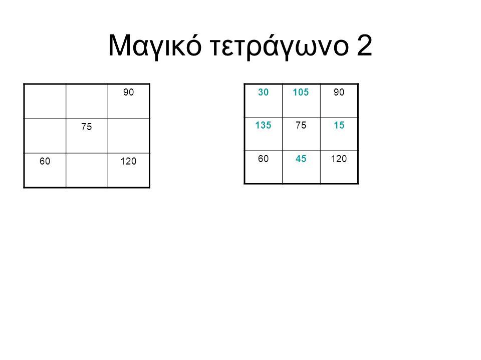 Μαγικό τετράγωνο 3 56112 8470140 56126112 1549842 8470140