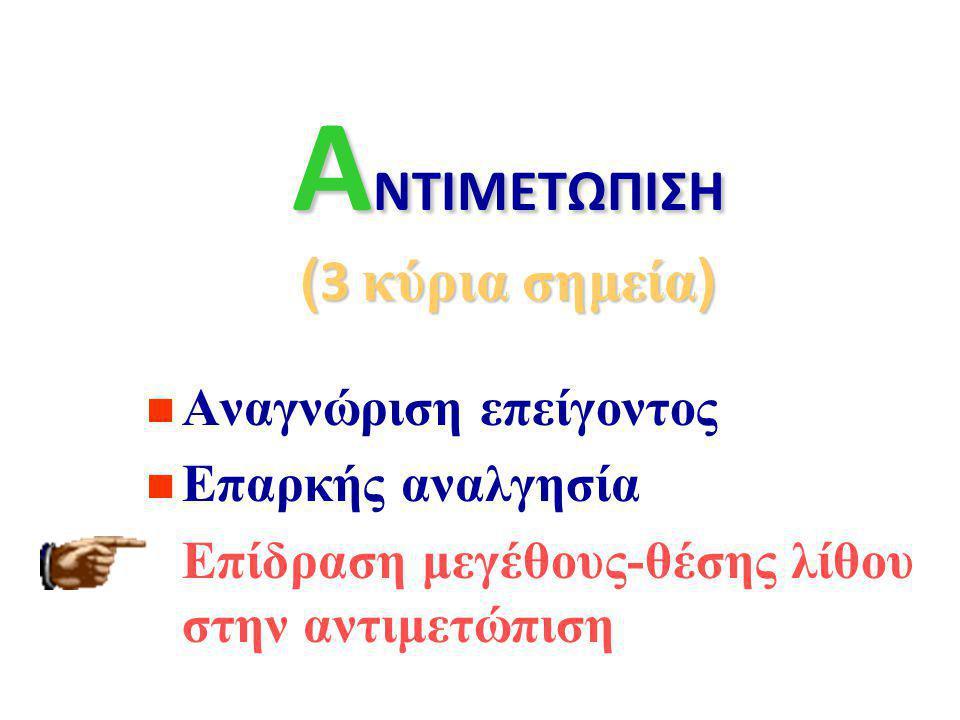 Α ναλγησία NSAID s : (δικλοφενάκη, κετορολάκη) Οπιοειδή: (πεθιδίνη,μορφίνη) Αναστολείς Ca + (νιφεδιπίνη).. α-ανταγωνιστές.. (ταμσουλοσίνη) …  χαλάρωσ