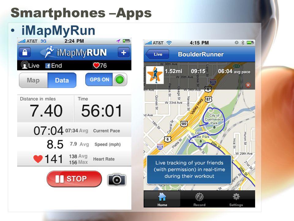 Smartphones –Apps iMapMyRun