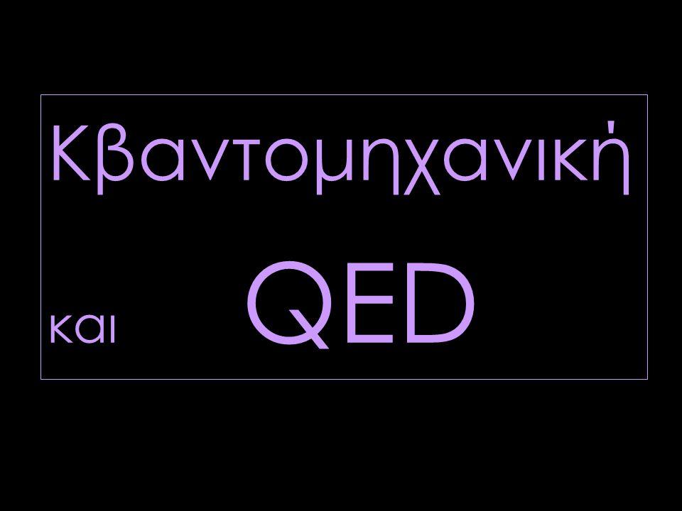 Κβαντομηχανική και QED