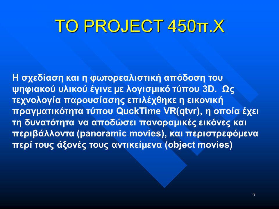 18 TEST TEST Το test στον Η /Υ ανέθετε στους µαθητές να οδηγήσουν αθηναίους πολίτες ώστε να διεκπεραιώσουν καθηµερινές δραστηριότητες που λάµβάνουν χώρα στην Αγορά.