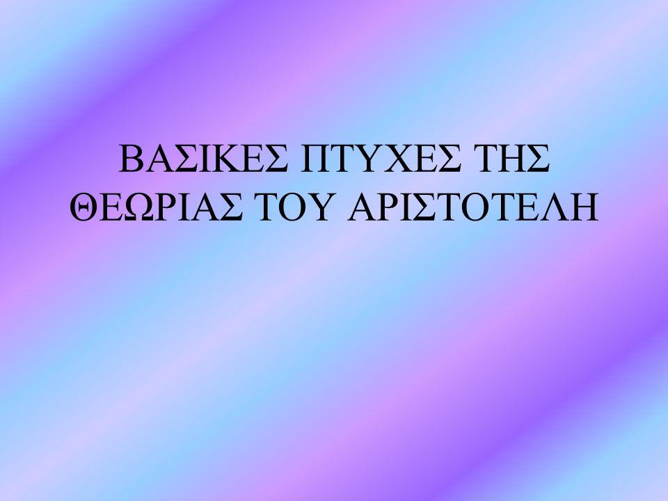 Φυσική Σημαντική στην Φυσική είναι και η συνεισφορά του Αριστοτέλη.