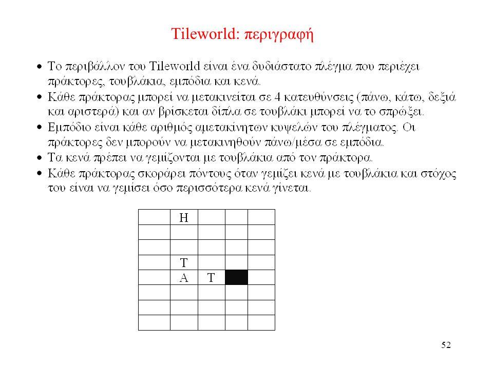 52 Tileworld: περιγραφή
